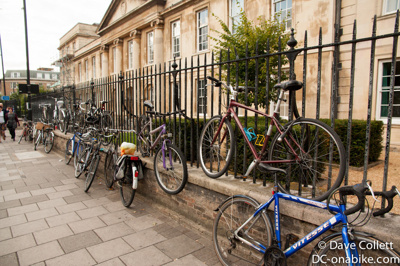 Cambridge- City of bikes!