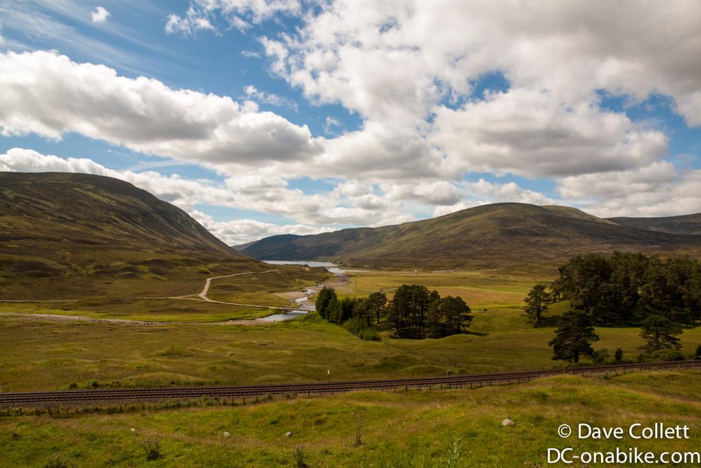 Hills, valleys and lochs