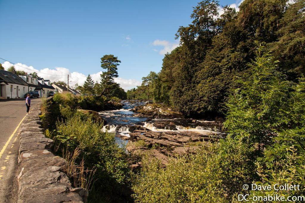 Little waterfall/rapids