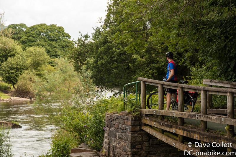 Josh and a river