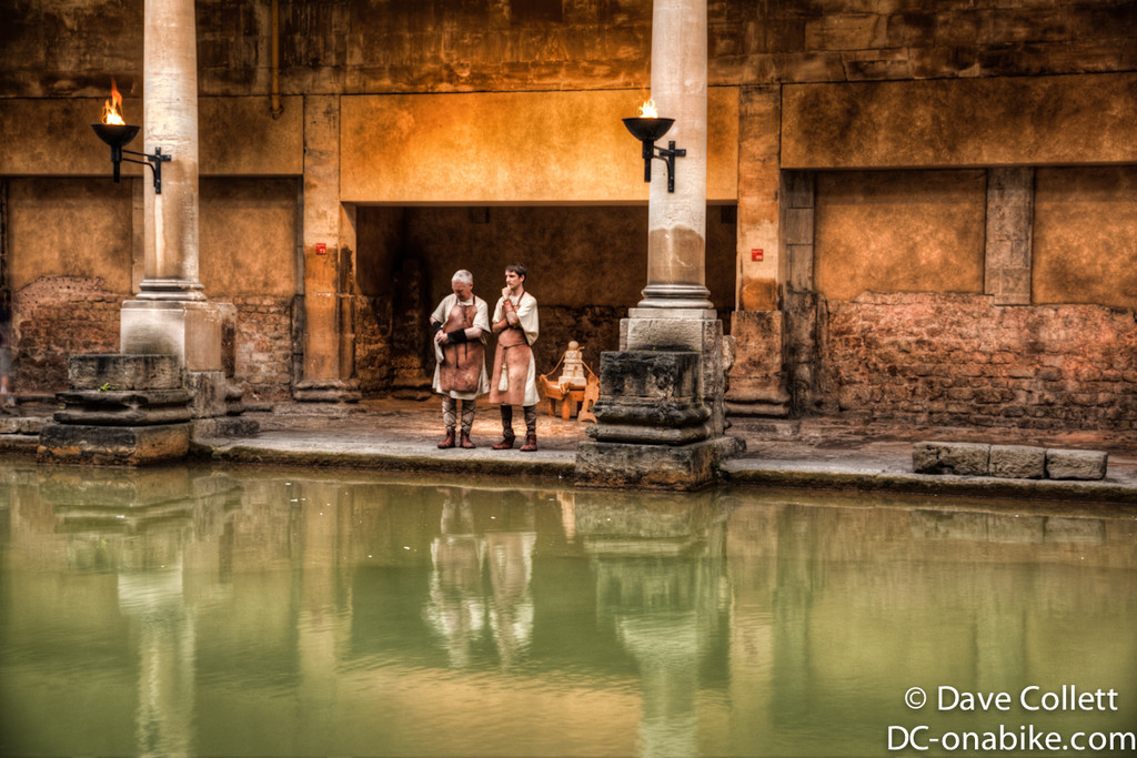 Actors pretending to be Romans