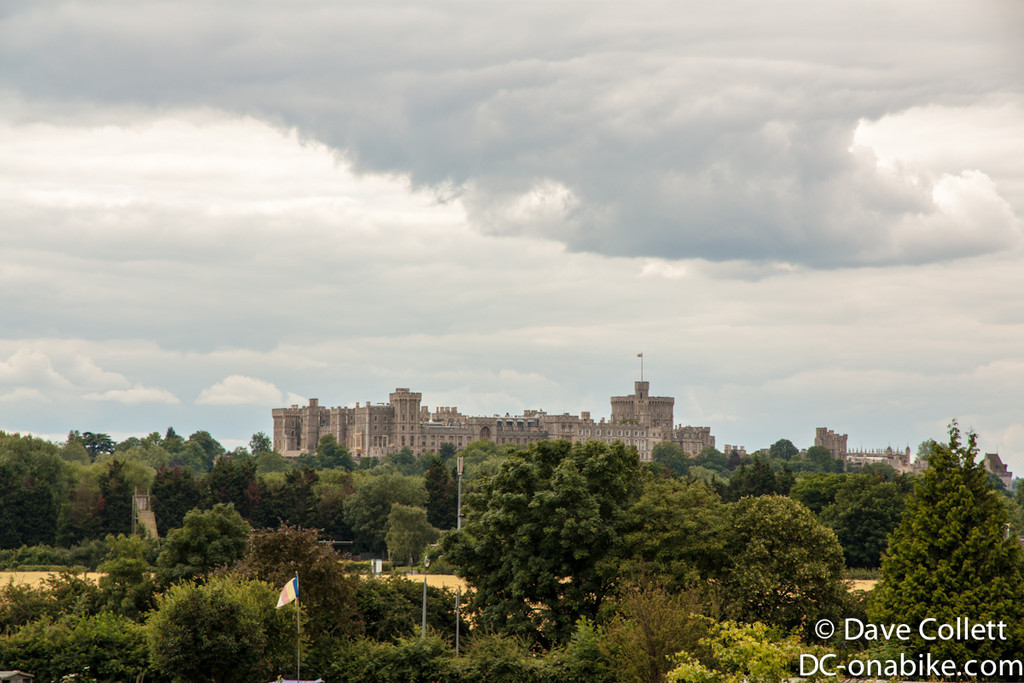 Windsor Castle from a distance