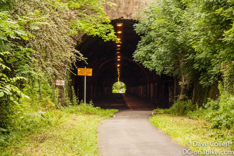 Yay, old railway tunnel!