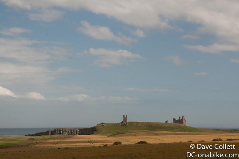 Remains of a castle