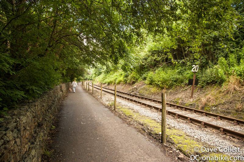 Cycle path between Bath and Bristol