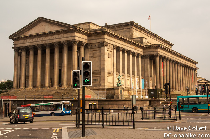 Big building in Liverpool