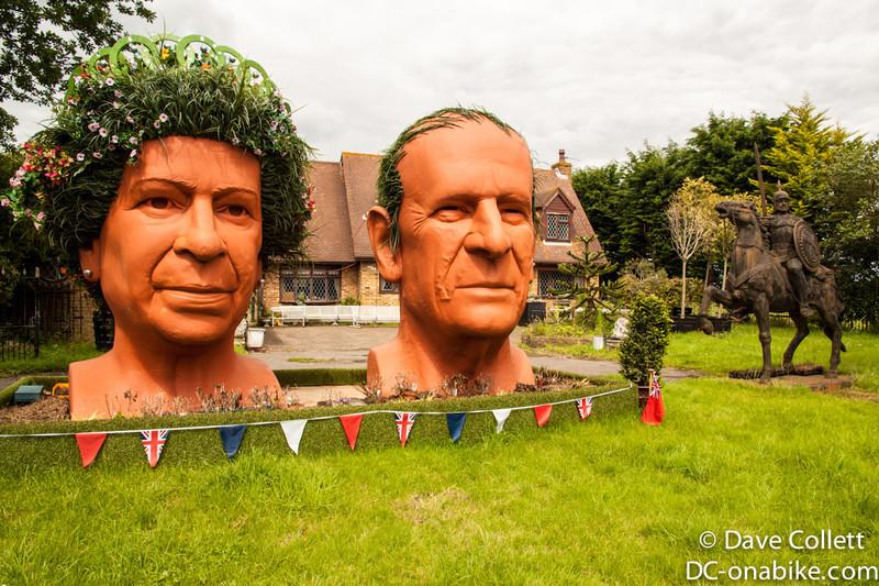 Massive heads just past Windsor. They look kinda familiar huh?