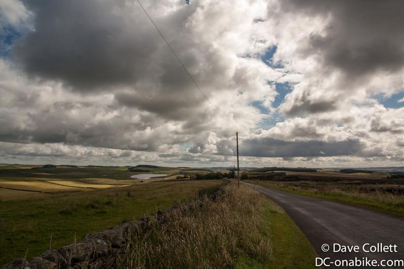 Riding through more countryside