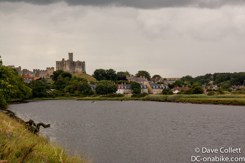 Warkworth has a castle!