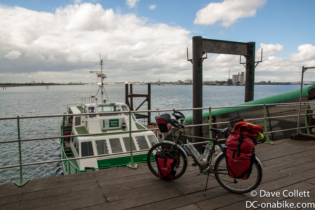 Hythe Ferry at Southampton