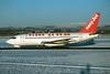 G-BECH Boeing 737-204 c/n 21336 Glasgow/EGPF/GLA 26-12-95 (35mm slide)