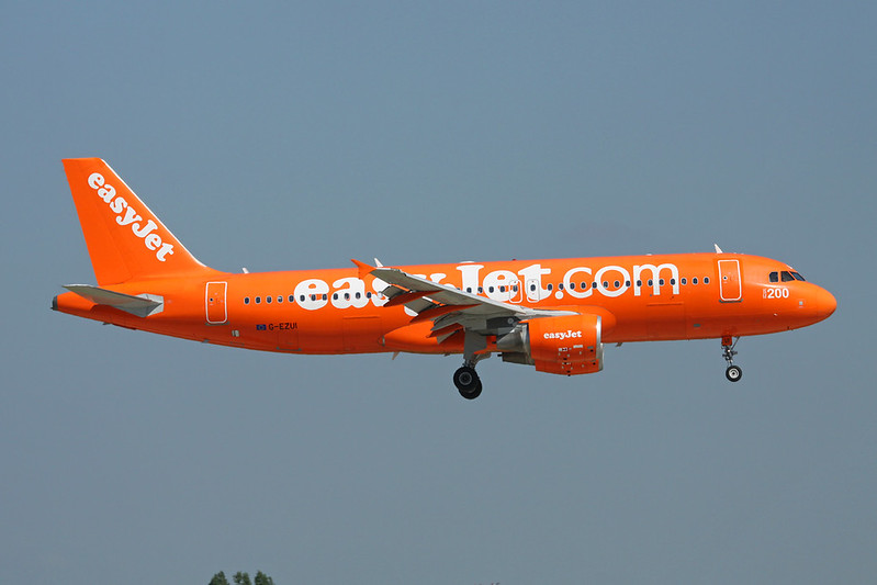"G-EZUI Airbus A320-214 c/n 4721 Paris-Orly/LFPO/ORY 17-06-17 ""Orange"""