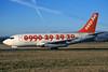 G-BECH Boeing 737-204 c/n 21336 Glasgow/EGPF/GLA 21-12-96 (35mm slide)