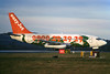 "G-BECG Boeing 737-204 c/n 21335 Glasgow/EGPF/GLA 29-12-96 ""Nessie"" (35mm slide)"