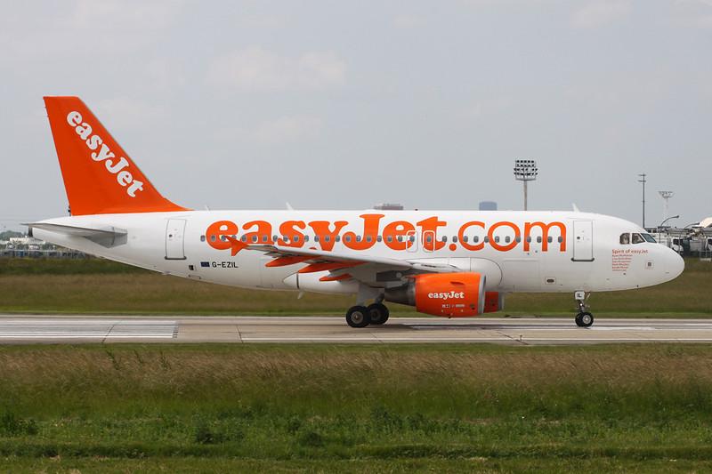 "G-EZIL Airbus A319-111 c/n 2492 Paris-Orly/LFPO/ORY 09-06-15 ""Spirit of EasyJet"""
