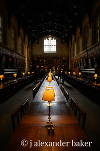 Christ Church College Hall (or Hogwart's) Oxford