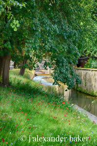 River Cherwell, Magdalen College, Oxford University