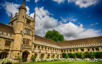 Christ Church College Quad, Oxford University