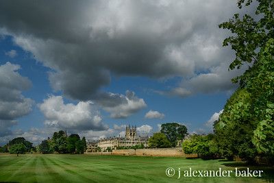 View of Magdalen College, Oxford University