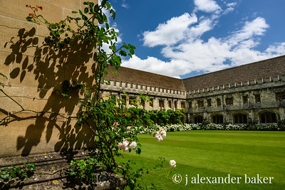 Christ Church College Quad, Oxford University