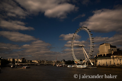 London Eye at Golden Hour