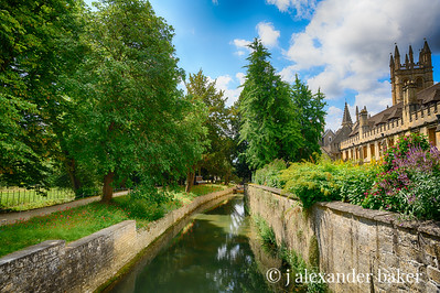 River Cherwell, Magdalen College, Oxford University