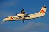 G-JEDB De Havilland Canada DHC-8-311A c/n 323 Glasgow/EGPF/GLA 28-12-99 (35mm slide)
