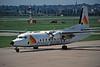 G-JEAI Fokker F-27-500 Friendship c/n 10672 Birmingham/EGBB/BHX 08-06-96 (35mm slide)