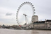The London Eye, also known as the Millennium Wheel, is the tallest (135 metres (443 ft)) Ferris wheel in Europe