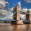 Tower Bridge from the SE (With nicer weather 5 mins later!)