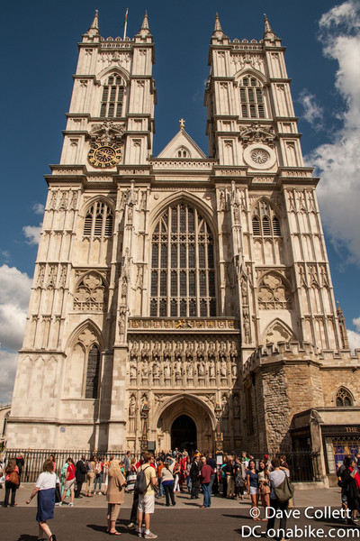 Westminster Abbey- western end