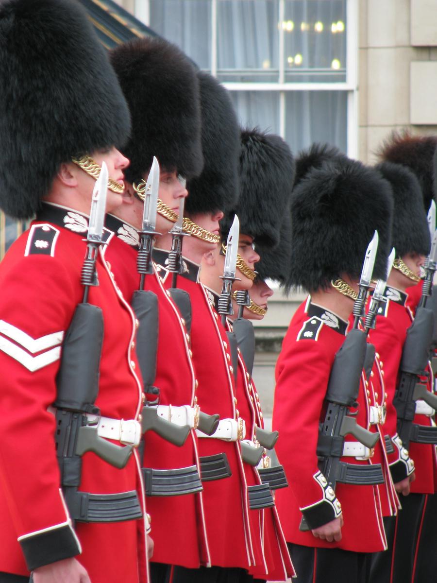 Buckingham Palace Guards - London, England - Daily Photo