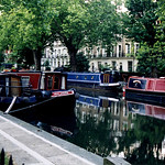 Canal Boats on the Regent's Canal – London, England – Daily Photo