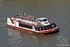 Tourist Boat on Thames Cruise from London Eye