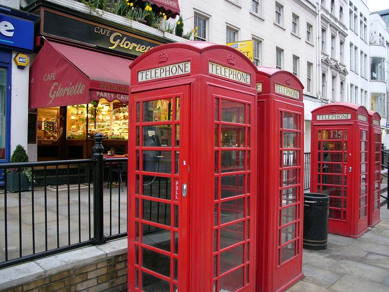 Question:  what is the other usage of phone booth other than telephoning?  HInt: same in Japan