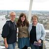 Melody, Liz and Joan on London Eye