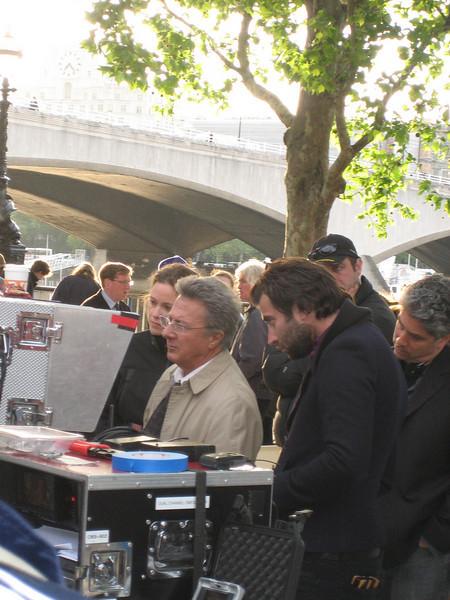 Dustin Hoffman shooting Last Chance Harvey