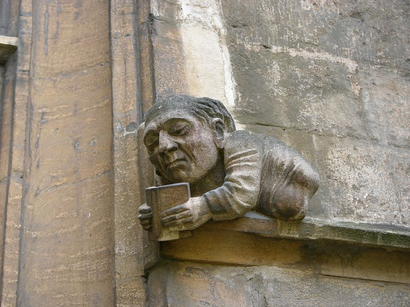 Funny face in Oxford