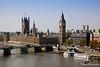 Westminster Bridge & Thames River