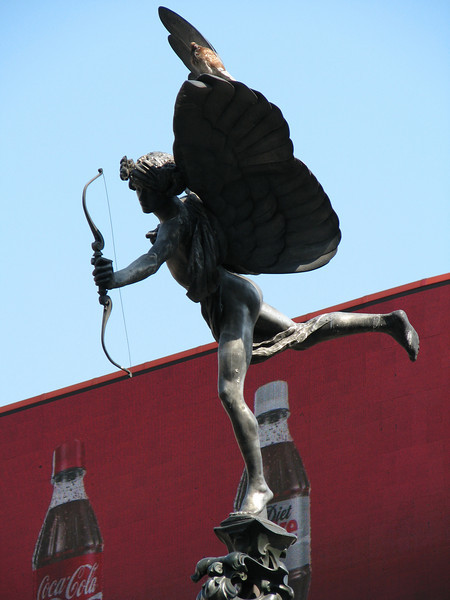 Eros in Picadilly Circus