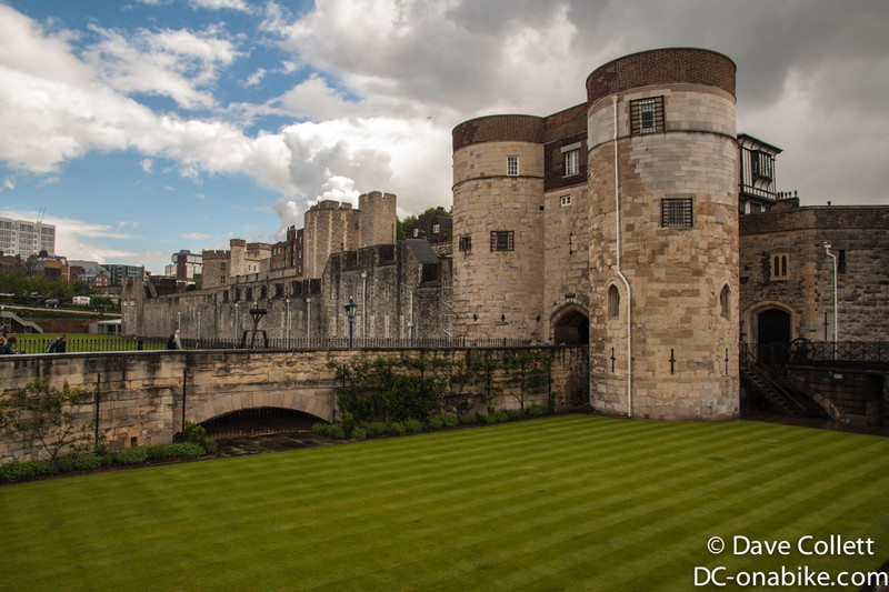 Tower of London (the grass used to be a moat)
