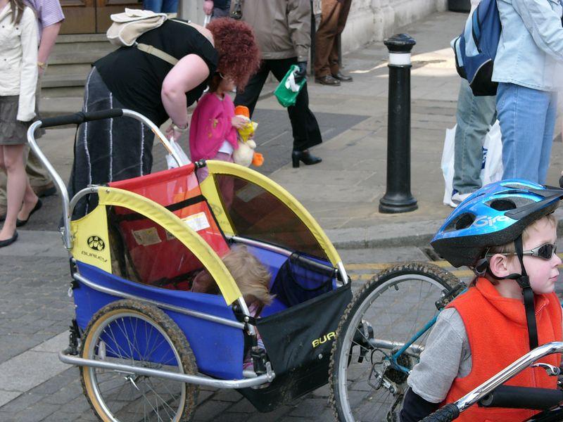 Shameful!  I want my own bike