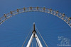 London Eye from Below