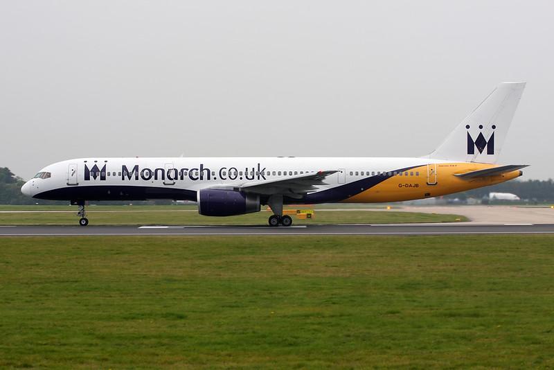 G-DAJB Boeing 757-2T7 c/n 23770 Manchester/EGCC/MAN 12-09-14