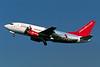 "G-BVKD Boeing 737-59D ""bmiBaby"" c/n 26421 Amsterdam/EHAM/AMS 22-04-05 ""visitWales.com"" (35mm slide)"