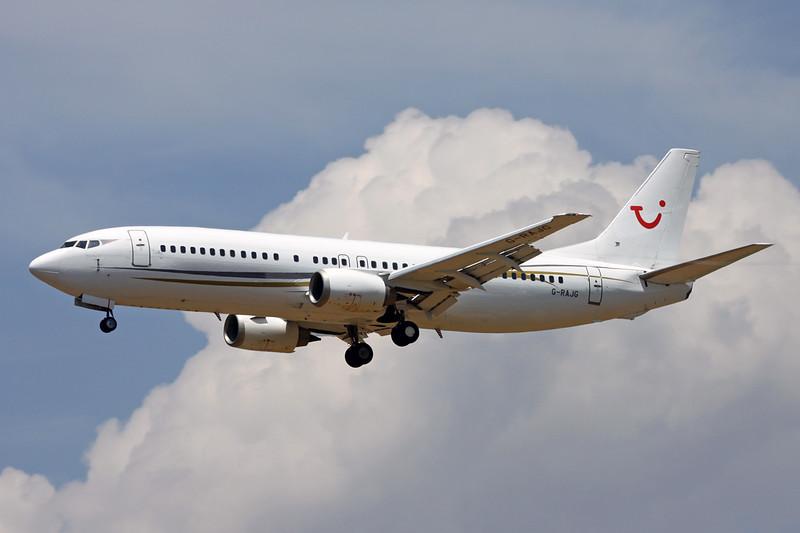 "G-RAJG Boeing 737-476 ""Cello Aviation"" c/n 24439 Palma/LEPA/PMI 13-06-16 ""TUI titles"""