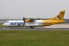 """G-BWBD Aerospatiale ATR-72-202 """"Aurigny Air Services"""" c/n 449 Manchester/EGCC/MAN 12-09-14"""
