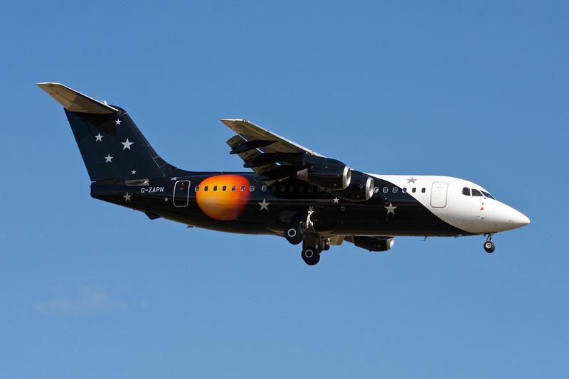"G-ZAPN British Aerospace 146-200QC ""Titan Airways"" c/n E2119 Stansted/EGSS/STN 18-07-10"