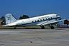 "G-AMPZ Douglas DC-3 C-47B-30-DK ""Air Atlantique"" c/n 16124 Fairford/EGVA/FFD 19-07-97 (35mm slide)"