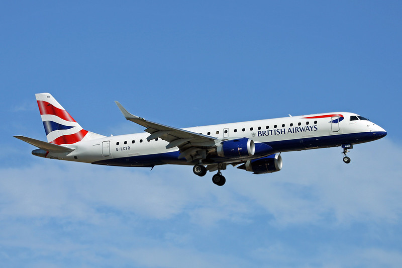 "G-LCYR Embraer Emb-190-100SR ""BA Cityflyer"" c/n 19000563 Palma/LEPA/PMI 15-06-16"